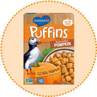 Worth-It Pumpkin Spice Finds: Barbara's Limited Edition Pumpkin Puffins