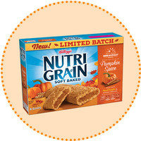 Worth-It Pumpkin Spice Finds: Nutri-Grain Limited Batch Soft Baked Pumpkin Spice Breakfast Bars