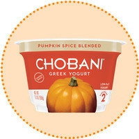 Worth-It Pumpkin Spice Finds: Chobani Limited Batch Pumpkin Spice Blended 2% Greek Yogurt