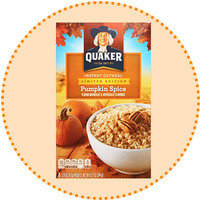 Worth-It Pumpkin Spice Finds: Quaker Limited Edition Pumpkin Spice Instant Oatmeal