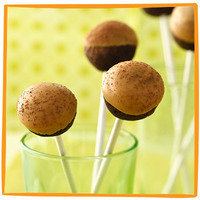 Hungry Girl's Healthy Potluck Recipes: Chocolate PB Cake Pops