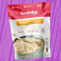 Grainful Homestyle Cheddar Whole Grain Steel Cut Oats