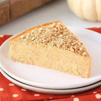 Healthy Thanksgiving Recipe Swaps: Perfect Pumpkin Cheesecake