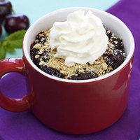 HG's Healthy Cherry Pie in a Mug Recipe