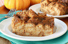 Perfect Pumpkin Bread Pudding