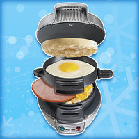HG Gift Guide 2016: Hamilton Beach Breakfast Sandwich Maker
