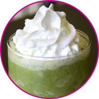 Healthy HG Swaps for Trendy Drinks: Green Tea Crème Swappuccino
