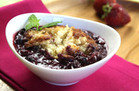 Slow-Cooker Berry Cobbler
