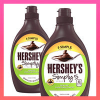 Hershey's Simply 5 Syrup Genuine Chocolate Flavor