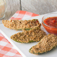 Hungry Girl's Healthy Super Bowl Recipes: Pizza-Stuffed Jalapeño Poppers