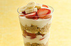 Hungry Girl's Healthy Berry-nana Oatmeal Parfait Recipe
