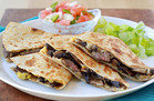 Double-Stuffed Steak Quesadilla