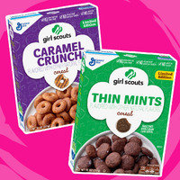 Girl Scouts Limited Edition Cereal