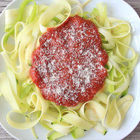 Lower-Carb Dinner Recipes: Zucchini Marinara Pasta Swap