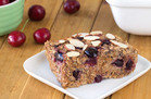 Cherry Pie Oatmeal Bake