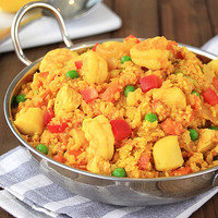 Healthy One-Pot Recipe to Make for Dinner Tonight: Cauliflower Rice Paella