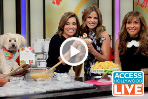 HG Lisa and Her Dog Lolly on Access Hollywood