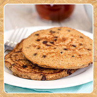 Healthy HG Peanut Butter Recipe: Peanut Butter & Chocolate Pancakes
