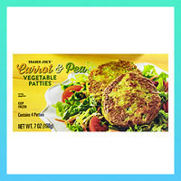 Must-Try Products from Trader Joe's: Carrot & Pea Vegetable Patties