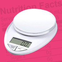 Nutrition Label Fact: Weigh for Accuracy