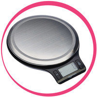 Hungry Girl's Must-Have Kitchen Gadgets: AmazonBasics Digital Kitchen Scale with LCD Display