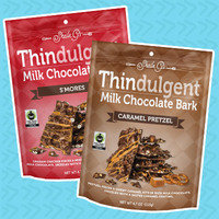 Thindulgent Milk Chocolate and Dark Chocolate Bark