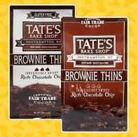 Hungry Girl Review: Tate's Bake Shop Brownie Thins