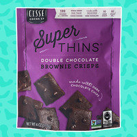 Hungry Girl Review: Cissé Cocoa Co. Super Thins Double Chocolate Brownie Crisps