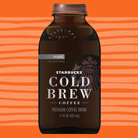 Unsweetened Starbucks Cold Brew