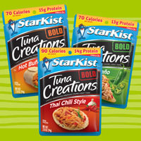 StarKist Tuna Creations BOLD Lightly Marinated Premium Chunk Light Tuna