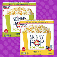 Skinny Pop Popcorn Microwave Pop-Up Boxes
