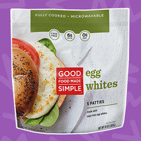Freezer Staples to Stock Up On: Good Food Made Simple Egg Whites (Patties)