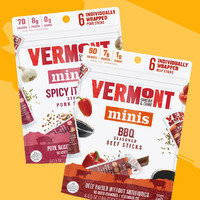 Vermont Smoke & Cure Minis Meat Sticks in Spicy Italian Pork and BBQ Beef