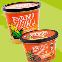 Boulder Organic! Green Chile Corn Chowder and Chicken Vegetable Chili