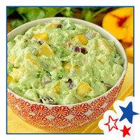 Healthy Hungry Girl Memorial Day Recipes: Hot Stuff Peach Guacamole