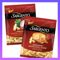 Sargento Snack Bites in Garden Vegetable Jack and Smokehouse Gouda Cheese