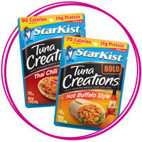 On-the-Go Snack: StarKist Tuna Creations BOLD Lightly Marinated Premium Chunk Light Tuna