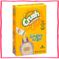 1-Click Wonder: Crush Pineapple Singles to Go! Sugar-Free Drink Mix