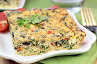 Healthy Hungry Girl Low-Sugar Recipes: Greek-Style Egg Bake