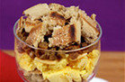 Healthy Hungry Girl Low-Sugar Recipes: Deconstructed Sausage McMuffin Parfait