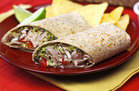 Healthy Hungry Girl Low-Sugar Recipes: Spicy Black Bean & Avocado Turkey Wrap