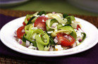 Healthy Hungry Girl Low-Sugar Recipes: Zucchini-Ribbon Salad