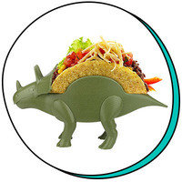 Cute Food-Themed Items: KidsFunwares Tricerataco Taco Holder