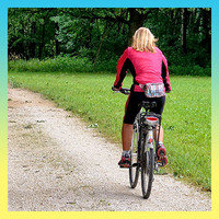 Calorie-Burning Summer Activities: Recreational Biking (300 calories per hour)