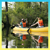 Calorie-Burning Summer Activities: Canoeing (250 calories per hour)