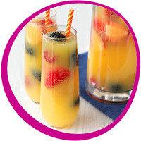 Low-Calorie Summer Cocktail: Sparkling Sangria