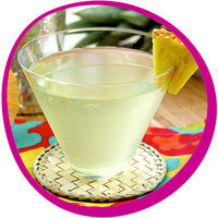 Low-Calorie Summer Cocktail: Pineapple-tini