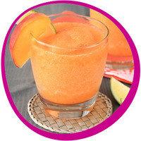 Low-Calorie Summer Cocktail: Just Peachy Margaritas