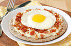 Hungry Girl's Healthy Egg 'n Bacon Pizza Recipe