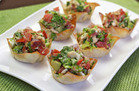 Hungry Girl's Healthy BLT Wonton Cups Recipe